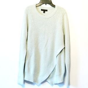 Banana Republic mint wool mohair sweater